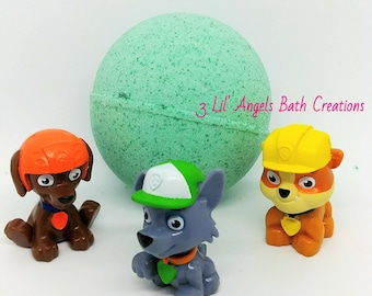 Bath Bombs For Kids - Bath Bomb With Toy - Toy Bath Bomb - Surprise Bath Bombs - Bath Bombs For Kids - Bath Bombs With Toy Inside - Favors