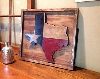 Large Rustic Texas