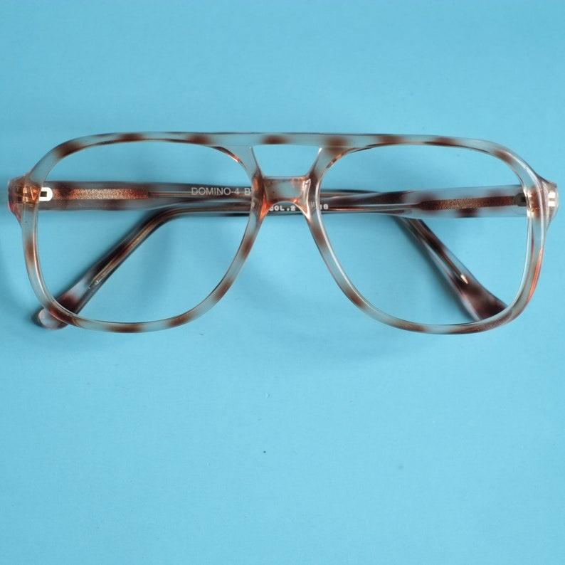 d087f861d008 Aviator Vintage Eyeglasses   80s Glasses Tortoise Shell