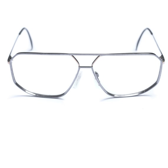 80s Aviator Vintage Glasses / Silhouette Eye Glass
