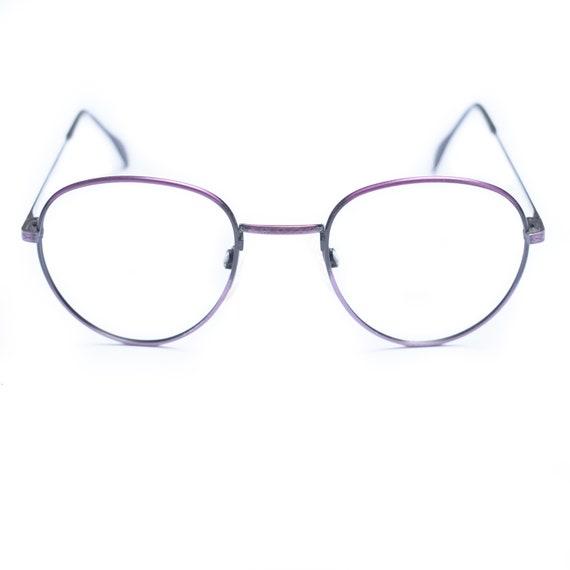 Purple Eye Glasses by Hans Stepper / Purple Glasse