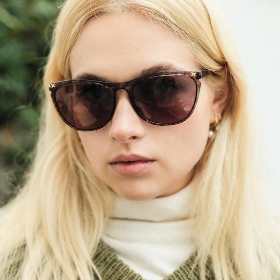 Paloma Picasso 90s Designer Vintage Sunglasses / … - image 4