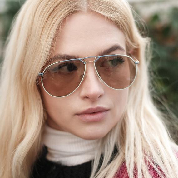 Fila Vintage Aviator Sunglasses, Fila Sunglasses,