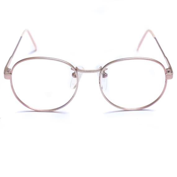Pastel Pink Eye Glasses Brulimar / Pink Glasses Wi