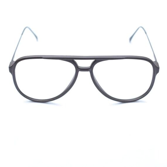 Aviator Vintage Glasses / Brown Glasses 90s / Over