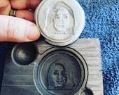 We make your Custom COIN Logo graphite Molds