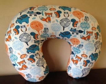 Woodland Critters Boppy Cover