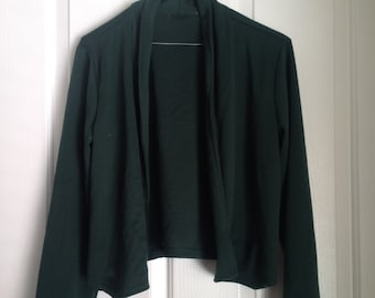 4f0ea94817 90s grunge green blazer jacket alternative vintage size XS