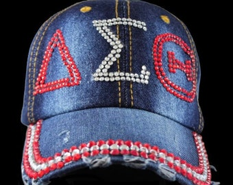 Delta Sigma Theta Cap-Free Shipping-Please email virtuouskbj@yahoo.com prior to placing Delta items in your cart.  Thanks!
