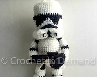 Star Wars Stormtrooper Inspired Crochet Doll/Figure/Plush