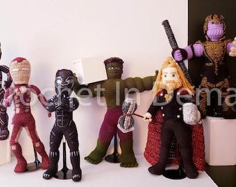 Marvel's Avengers Inspired CID Series I Set of 6 Figures/Dolls