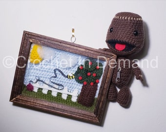 Crochet Sackboy Inspired Plush/Doll