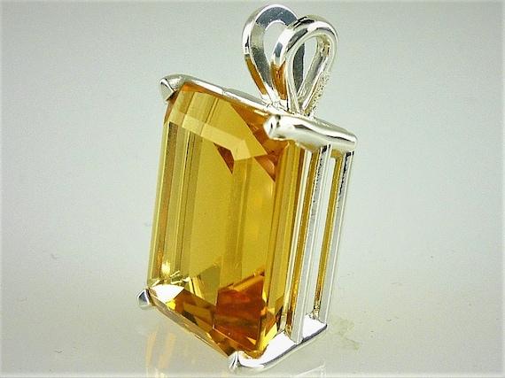 Beautiful Orange Citr Emerald Cut Faceted Calibrated Citrine 7x9mm Each Citrine Cut Stone Lot 11.20 Carats 5 Pieces
