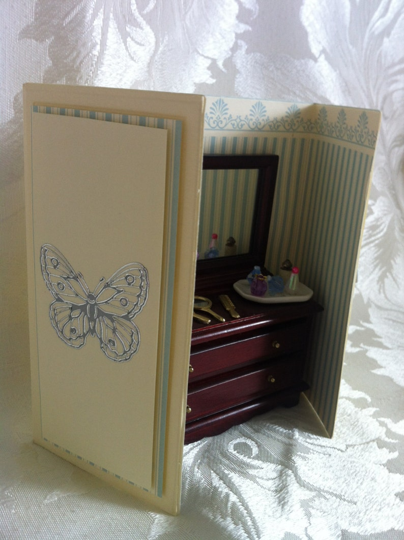 Retirement Get Well Lovely Handmade 3D Gift Card which would be suitable for any occasion Birthday