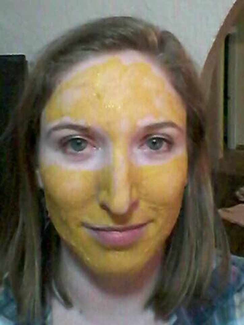Turmeric Mask 2oz 18 applications Face Mask Skin image 0