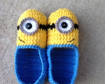 One-eyed Minion slippers