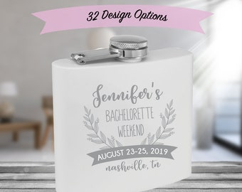 Engraved Bridesmaid Flask f9705221a