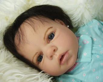 Noah Awake Custom Reborn Doll Reva Schick Little Darlins Nursery Anatomicaly Correct Vinyl Body Rita Meese