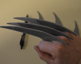 Screen Accurate Wolverine Bone Claws Hand Sculpted And