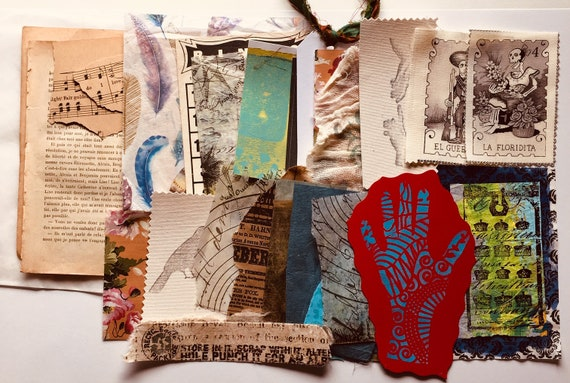 Art Journal Cover Collage