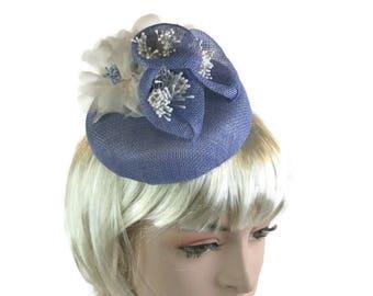 Lilac pillbox hat  a96deaa360e