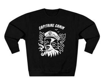 Capitaine Canin, Crewneck, Sweatshirt