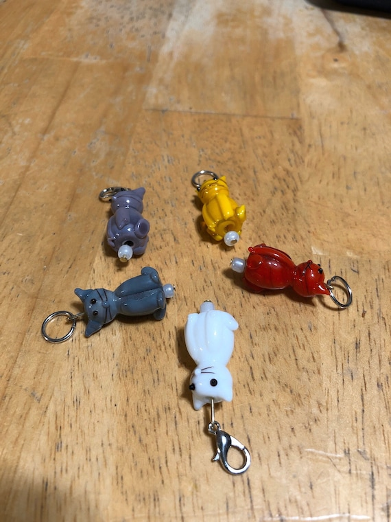 Kitten Markers, Cat StItch Markers, Progress Keepers