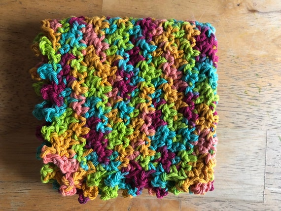 Knobby stitch washcloth/dishcloth