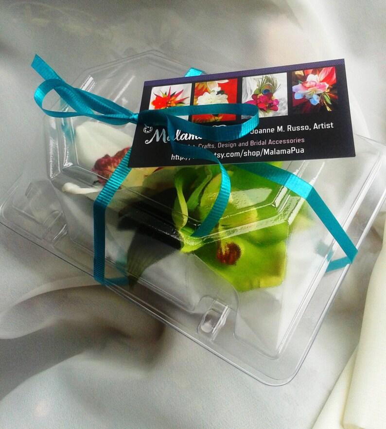 TROPICAL FLOWER CLIP Hawaiian Orchids Beach Hair Flower Comb Bridal Hair piece,Wedding Headpiece Bridesmaid hair accessory Fascinator