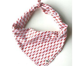 Headband, Hand Block Print flower buti beige Cotton, Head Scarf, Turban Scarf, Napkin, Face Mask, Headband, Neck kerchief, Bag Scarf
