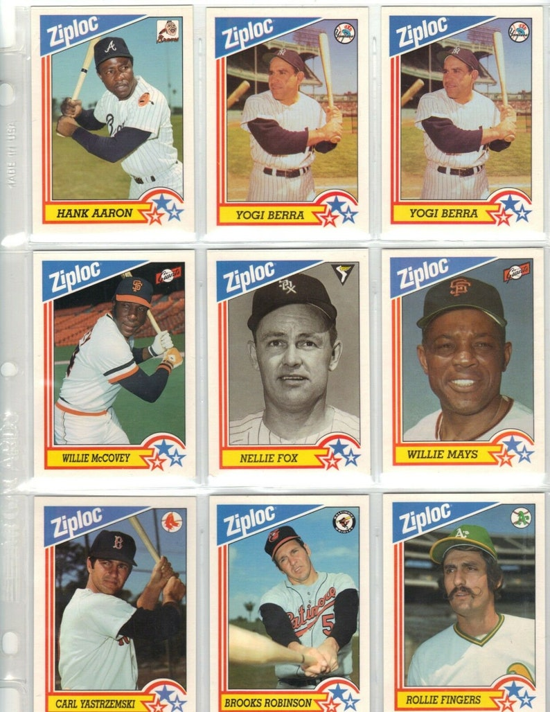 1994 Post Collector Series Cares Baseball Full Set Of 30 Cards Sealed