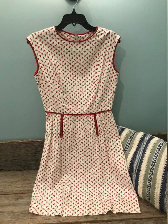 Handmade 1940's Vintage Day Dress