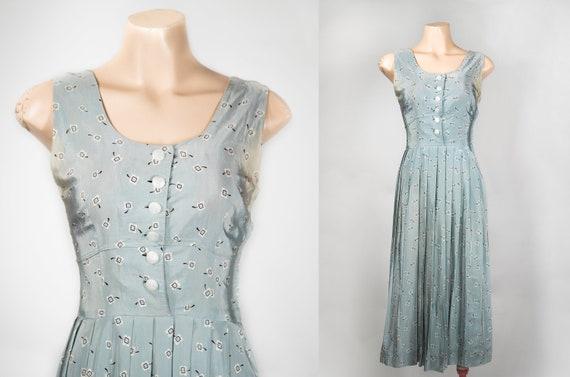 1960s / 1950s JONATHAN LOGAN atomic print dress