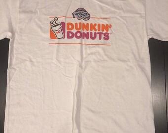 b9d8b52a53387 Dunkin Donuts New Hampshire Fisher Cats Baseball t shirt L - Dunks New  England Manchester