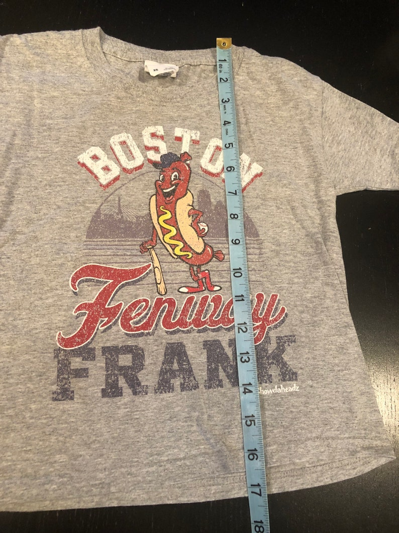 Dropkick Street Dogs Boston Red Sox Fenway Frank Youth T Shirt XS