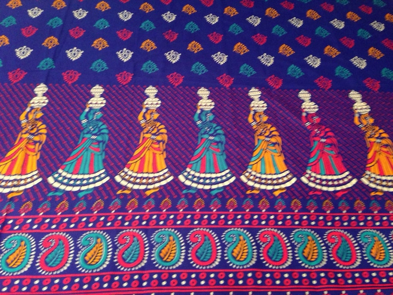 SUPER Vibrant Indian Style Fabric  Tapestry Women image 0