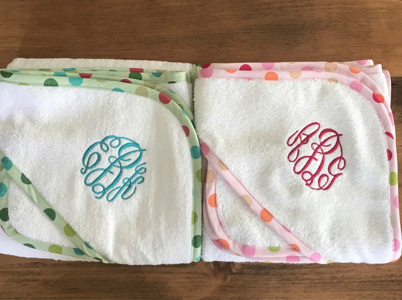 Baby Girl Gift Personalized Baby Towels Monogram Gift Monogram Towels for Kids Hooded Bath Towel Newborn Baby Supplies Baby Boy Gift