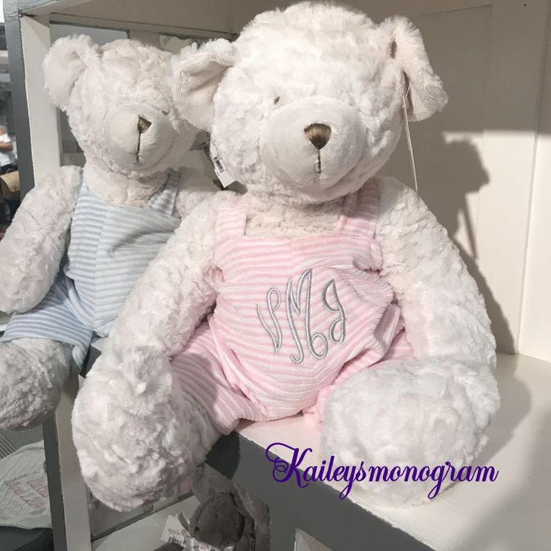 9820d896bfc0 Stuffed Animal Teddy Bear Personalized Memory Bear. Baby | Etsy