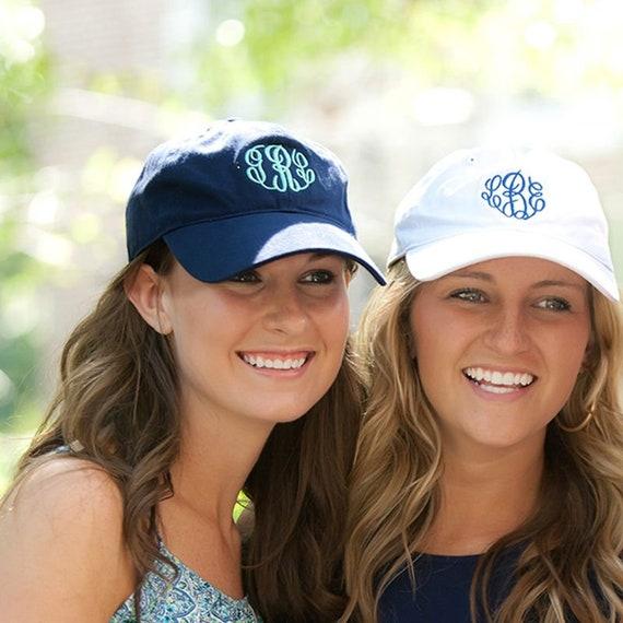 4f42fab8233 Ladies Personalized Baseball Hat Monogram Baseball Cap