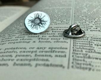 Silver Daisy Pin