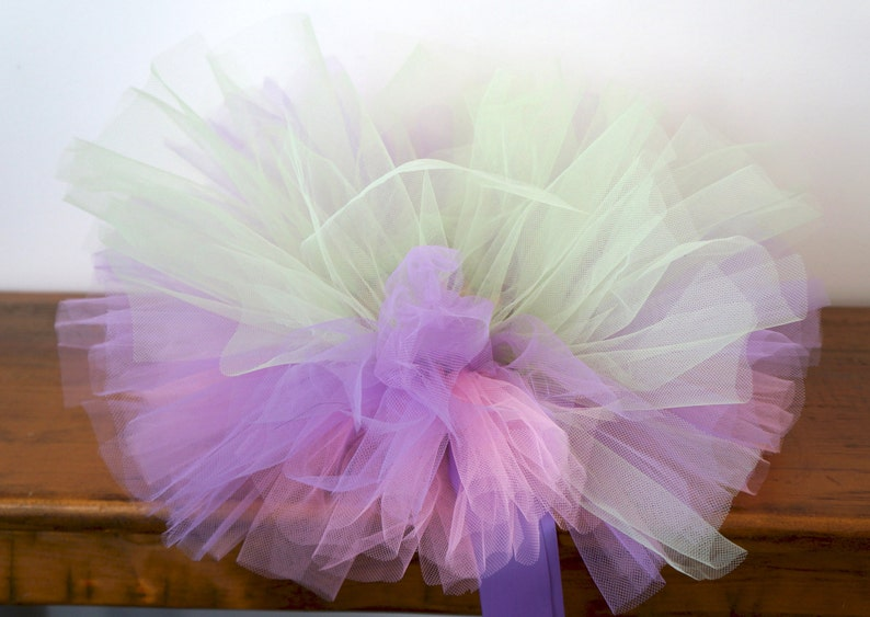Pink Lilac and Mint Tutu Newborn Tutu Baby Tutu Tutu