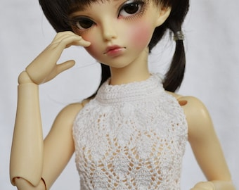 White top and pleated skirt for minifee, narae