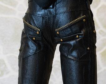Leather pants for SD17 BJD boy (Granado Lads)