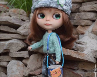 Cat bag for Blythe, azone pure neemo, 1/6 dolls