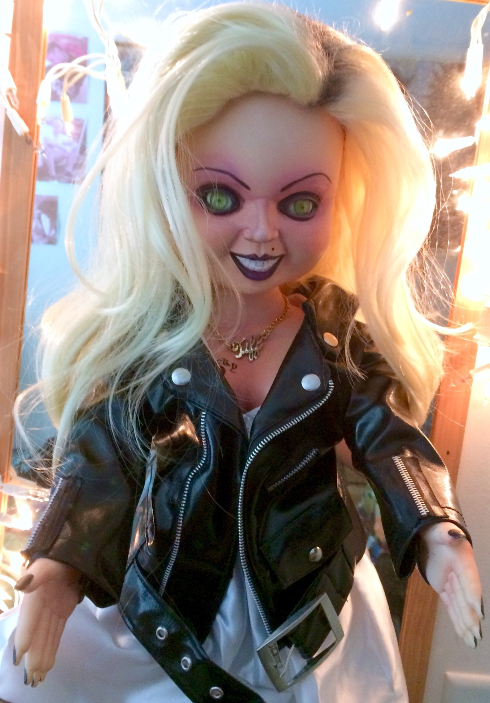 Talking Life Size Tiffany Doll Replica Bride Of Chucky
