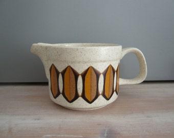 Royal Worcester Palissy Casual Tableware Milk / Cream Jug 1970s Mid Century Retro Vintage