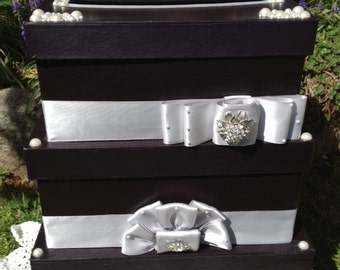 Madis and Silver Gift Card Box