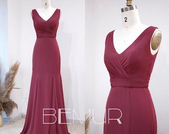 Renz Ombre Mermaid Sequin Dress Rose Gold /& Wine Glitter Party Dress Scoop Neck Prom Dress Bodycon Bridesmaid Dress Wedding Dress HQ701