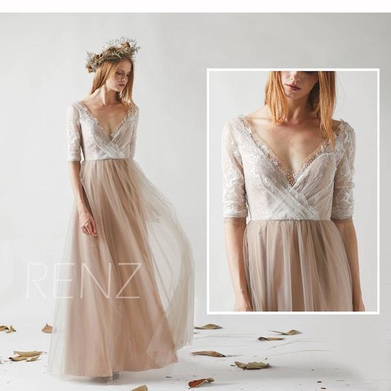 Off White Bridesmaid Dresses