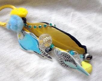 DOOR keys or jewelry bag birds